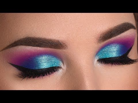 """(5) Colorful Summer Smokey Eye Makeup Tutorial 