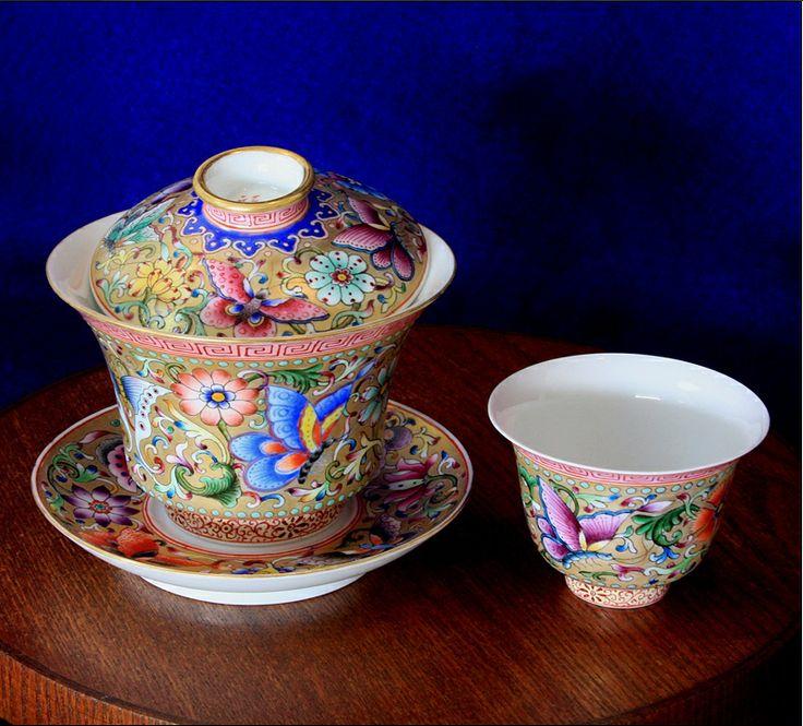 Jing gaiwan tea set | Tea | Pinterest | Tea sets and Teas