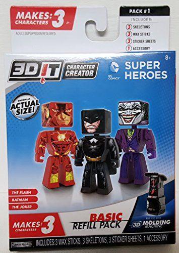 3D Character Creator DC Comics Super Heroes Basic Refill ... https://www.amazon.ca/dp/B014JY136W/ref=cm_sw_r_pi_dp_x_Kzl3ybFYN6ERQ