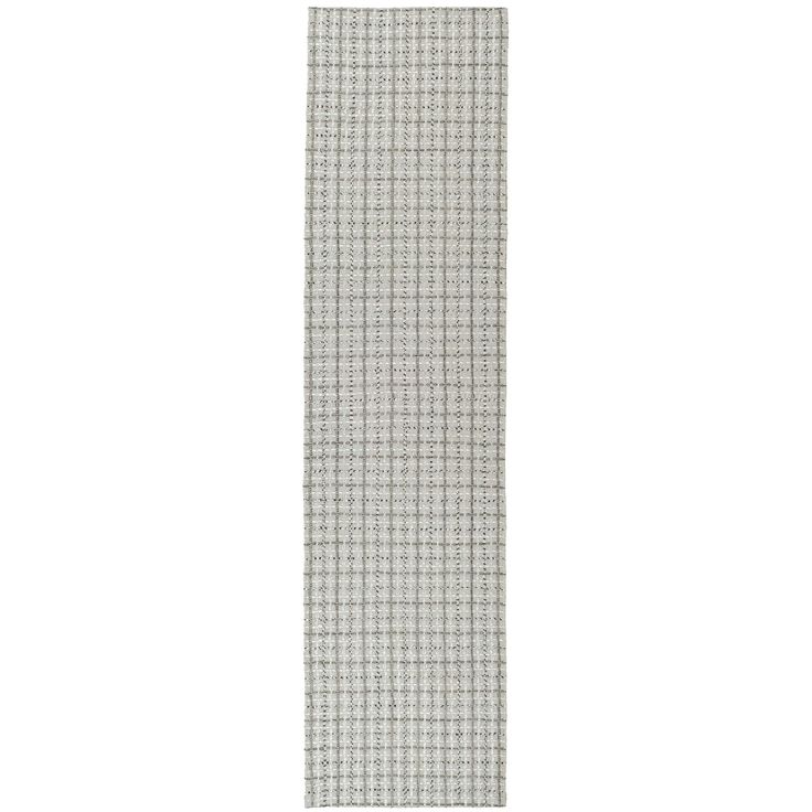 Safavieh Hand-woven South Hampton Silver Rug (2' x 6') (SHA241C-26), Size 2' x 6' (Polyester, Geometric)