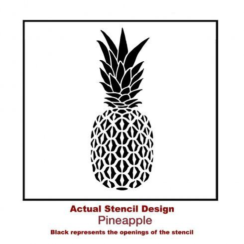 228 best images about Stencil on Pinterest   Dibujo ... Pineapple Stencil