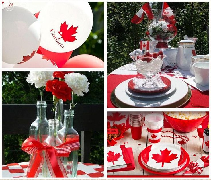 Check out http://partyideaspage.com! Ideas for hosting Canada Day including decorating tips, fun activities and useful information for all your planning needs.