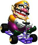 #Wario in his kart from #MarioKart64  Click for full Wario gallery http://www.superluigibros.com/wario-pictures