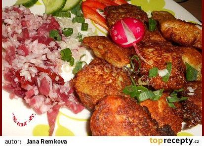 Kuřecí střapačky v bramborákovém těstě recept - TopRecepty.cz