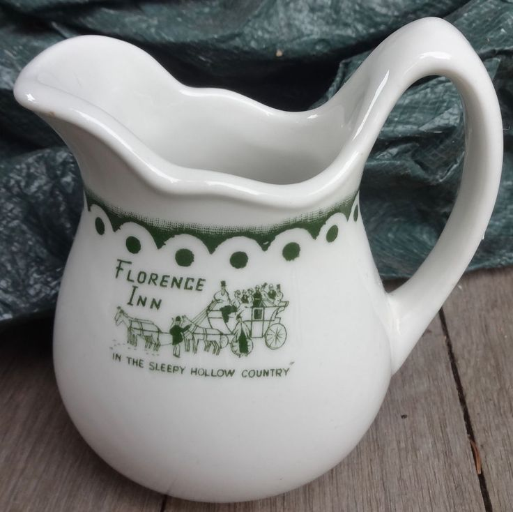 Florence Inn Sleepy Hollow Top Marked 4 Creamer Restaurant Ware | eBay