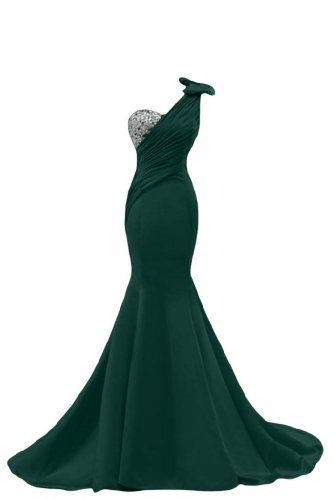 Sunvary Sexy Mermaid Prom Gowns for Pageant Formal Dresses Long Dark Green  US Size 18W-