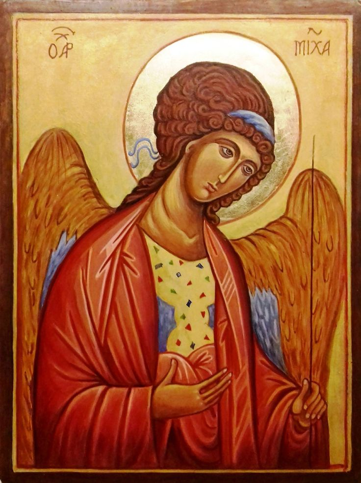 Mihály  arkangyal Andrej  Rubljov Oroszország   XV. század