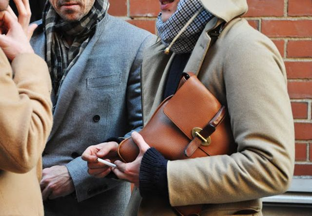 Street Style: Men's Winter Looks