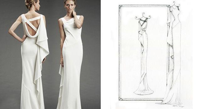 Wedding Dress Portraits: Pretty As A Picture | WeddingDates.ie