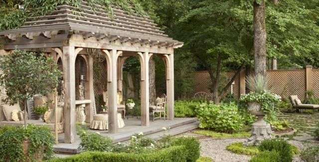 European style garden , pergola   Pergola & Trellis   Pinterest