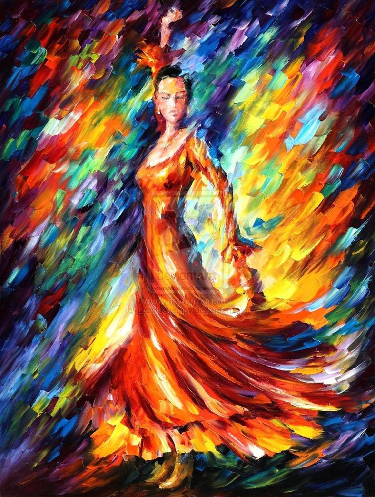 Flamenco dancer - Leonid A.