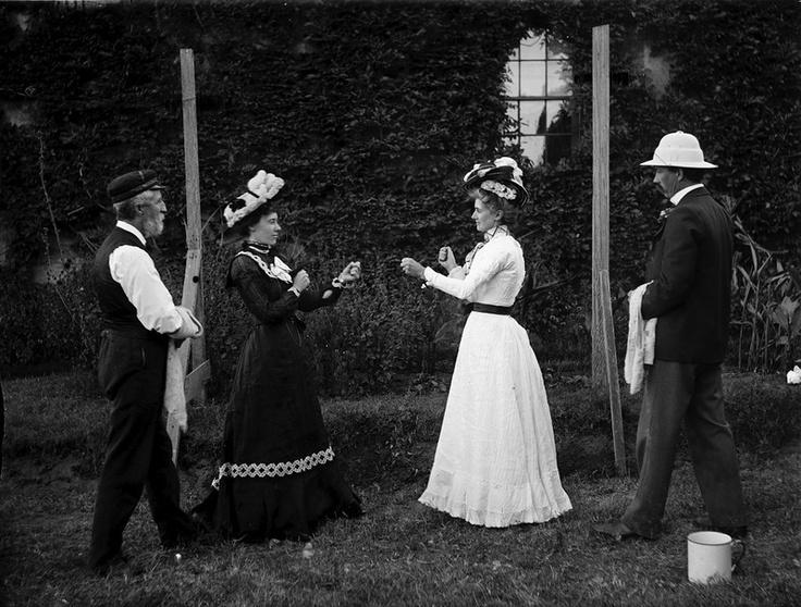 Женский бокс 100 лет назад