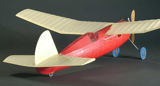 Outerzone : Varsity plan : download free vintage model aircraft plan