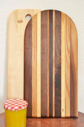 handmade cutting boards.