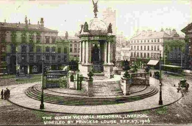 Queen Victoria monument.