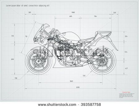 Cool Sketches Of Motorcycle Engine