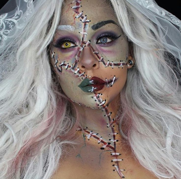 52 best Halloween makeup images on Pinterest Make up looks - cool makeup ideas for halloween
