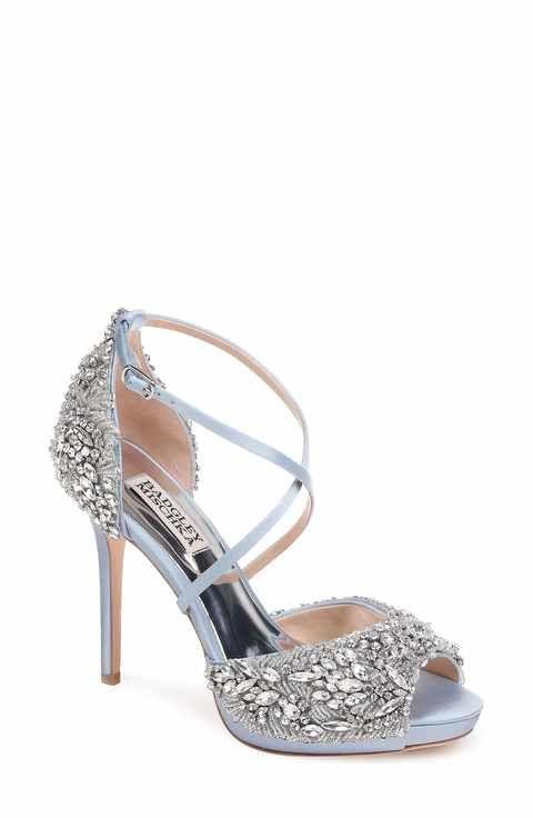 5c79d1b5a Badgley Mischka Hyper Crystal Embellished Sandal (Women)