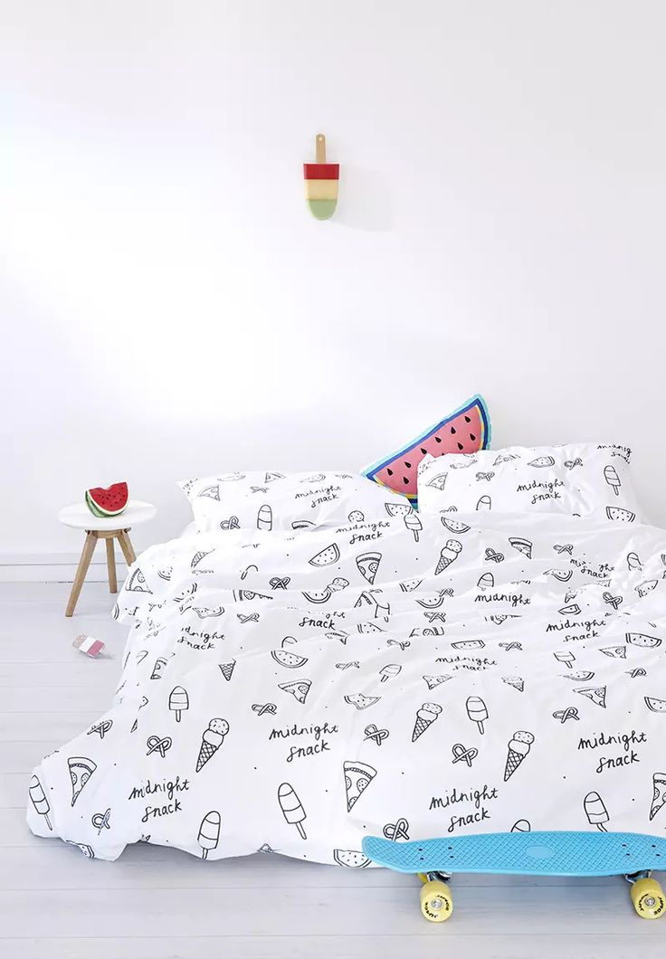 Midnight Snack Duvet Cover