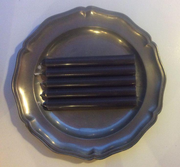 tinavadin halkaisija 31.5cm, kynttilät 'gris zinc' sinkin harmaa