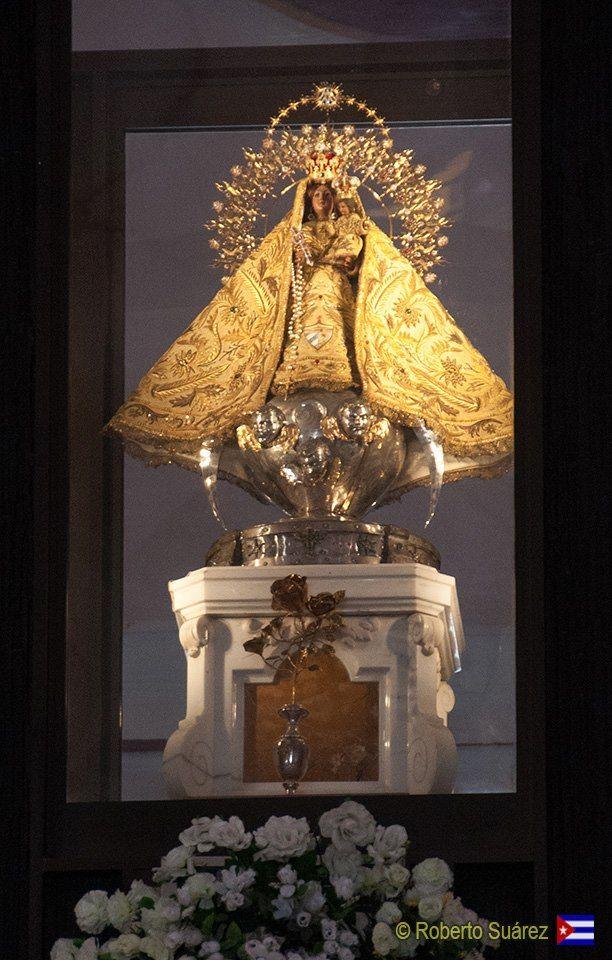La Virgen de la Caridad del Cobre.