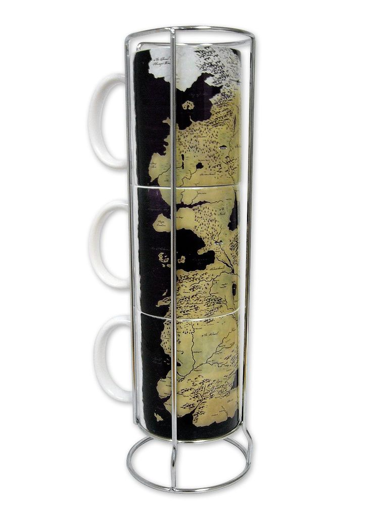 Game of Thrones #Mug set with Map of #Westeros | #Coffee