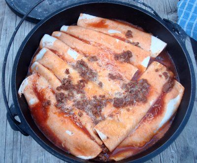 dutch oven enchiladas & a bunch of other boy scout recipes.