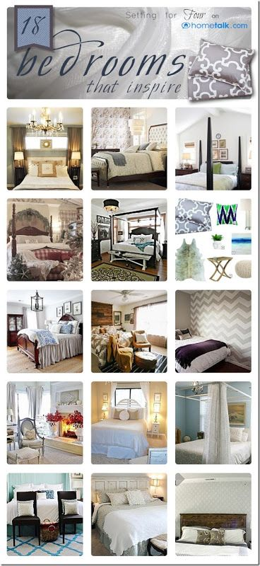 18 Bedrooms that Inspire Hometalk Clipboard from Setting for Four