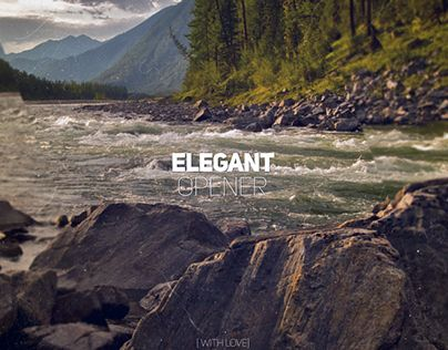 """Check out new work on my @Behance portfolio: """"After Effects Template : Elegant Opener"""" http://on.be.net/1J6A61w"""