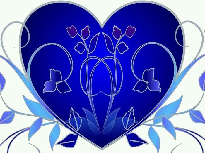 Blue heart ~ღ~