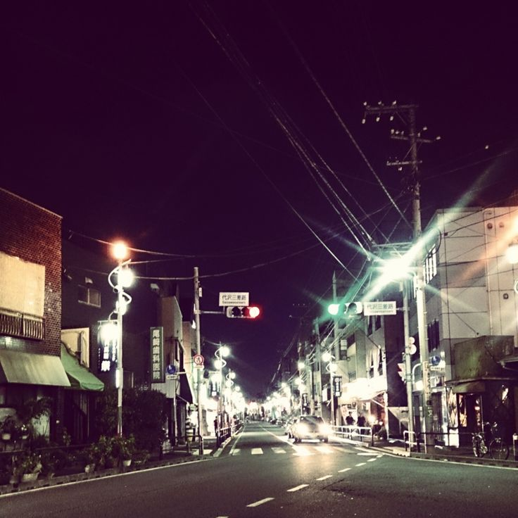 下北沢の夜 Shimokitazawa night