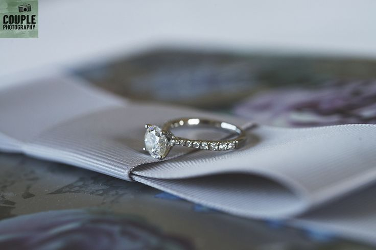The beautiful engagement ring. Weddings at Druids Glen Hotel by Couple Photography.
