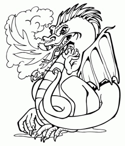looking for printable dragon coloring pages as this chinese new year is the year of the dragon this mythical creature is a very popular animal - Mythical Creatures Coloring Pages