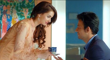 How can we forget this cute face a good addition to the Pakistani indusr... Hania Amir as Palwasha