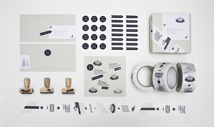 Stationery Design –FROM COLOGNE WITH LOVE on Behance