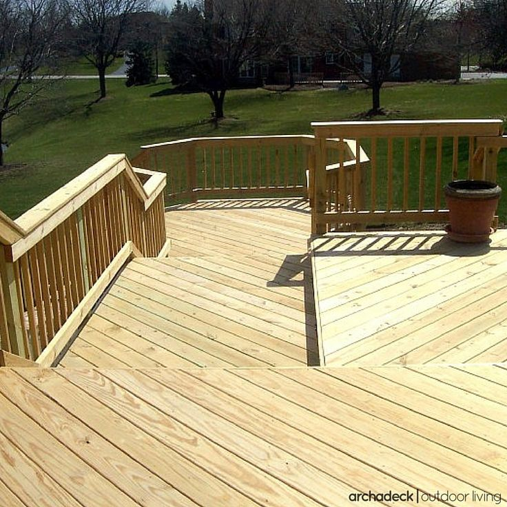 7 best pressure treated lumber deck ideas images on for Cost of composite decking vs pressure treated