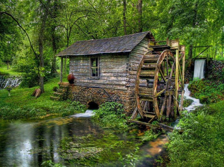 mill in Centrville Mo. founded in 1843 near Eminence Missouri
