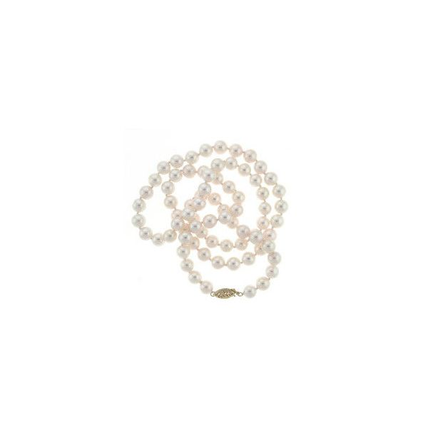 DaVonna 14k Gold Akoya Pearl High Luster 24-inch Necklace ($486) ❤ liked on Polyvore featuring jewelry, necklaces, fillers, accessories, gold jewelry, gold pearl necklace, 14 karat gold jewelry, 14k pearl necklace and 14k gold jewelry