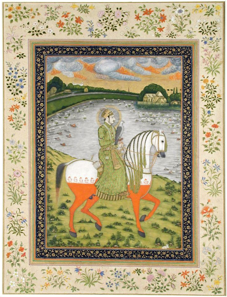 Muhammad Shah in the hunting field