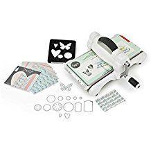 Sizzix 661545 Big Shot  Kit de démarrage scrapbooking machine de découpe et gaufrage