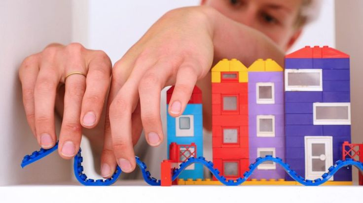 Nimuno Loops tape lets you build Lego on almost anything
