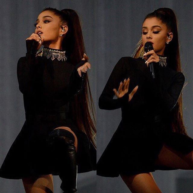 February 3: [More] Ariana performing at the #DangerousWomanTour in Phoenix, AZ