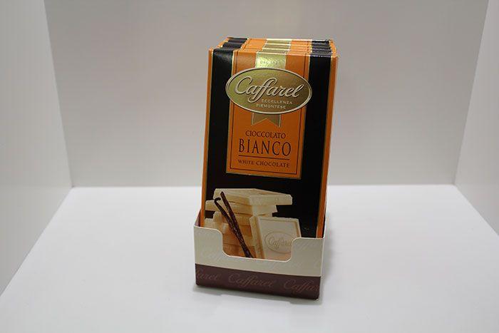 Tavoletta Caffarel  CIOCCOLATO BIANCO - http://www.caffeciok.it/wp001_caffeciok_ecommerce/shop/tavolette-cioccolata/tavoletta-caffarel-cioccolato-bianco/