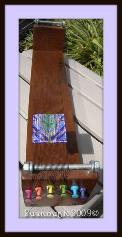 interesting loom - DIY Bead loom?