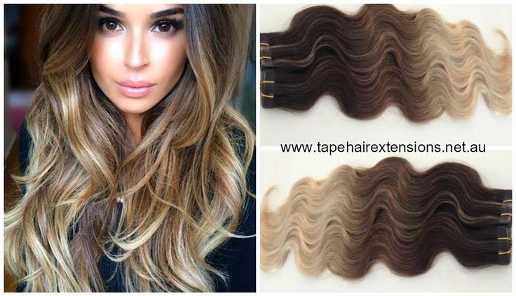 V.I.P FOILED WAVY Ombre / Balayage Collection -  The Most Incredible Range Of Wavy And Straight Ombre / Balayage Extensions On The Market. In Stock Available For Immediate Express Delivery Or Pick-Up www.tapehairextensions.net.au