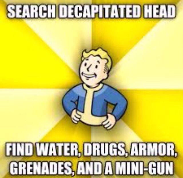 Fallout logic. - Imgur