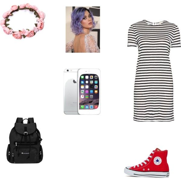 Mall with your friends by fivesaucescondiment on Polyvore featuring polyvore, fashion, style, Alice + Olivia, Converse and Sherpani