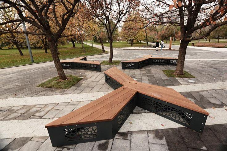 960 640 urbanismo pinterest paisajismo for Mobiliario urbano contemporaneo