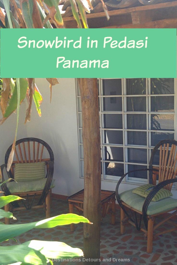 Snowbirds winter in Pedasi in rural Panama - a different experience than wintering in Arizona #snowbird #Panama #pedasi