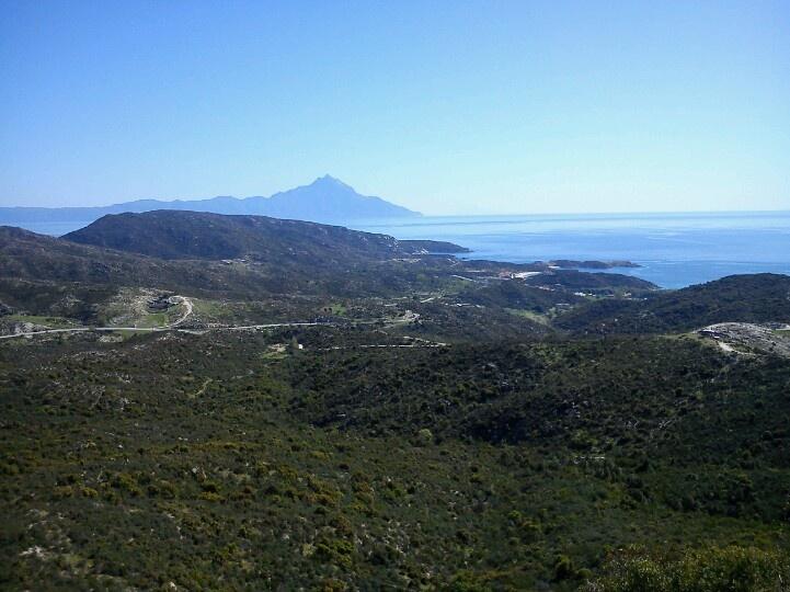 View from Kalamitsi
